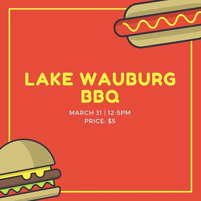 Don't make plans for the weekend because we're going to Lake Wauburg for a BBQ! Hang out with us as we soak up the sun, enjoy some volleyball, frisbee, canoeing, and relax for the weekend eating American BBQ! (Please check Facebook event for more details: www.facebook.com/events/604351509897606/)