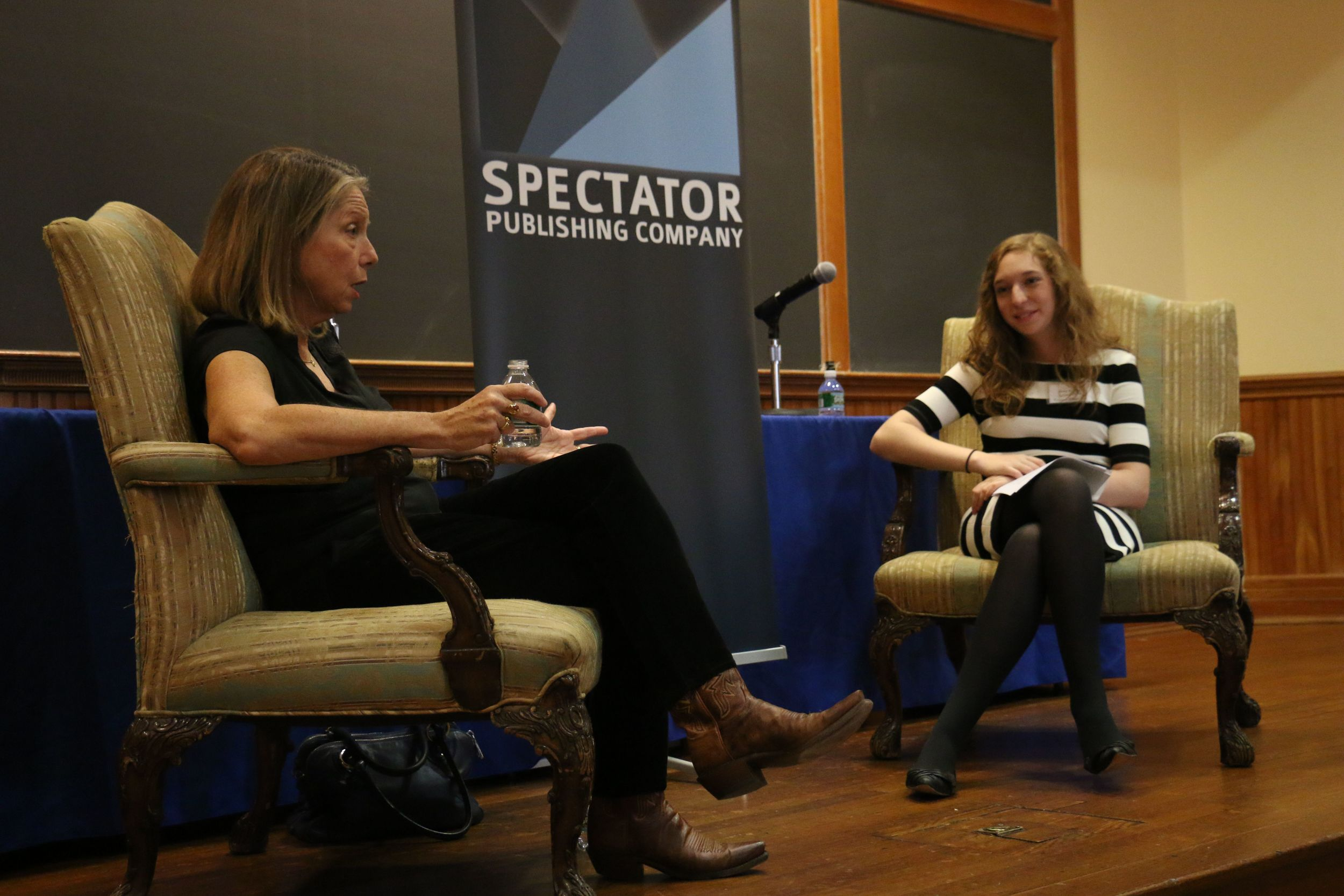 Jill Abramson, the former executive editor of the New York Times, shares her insight at the Columbia Media Conference in November 2014.