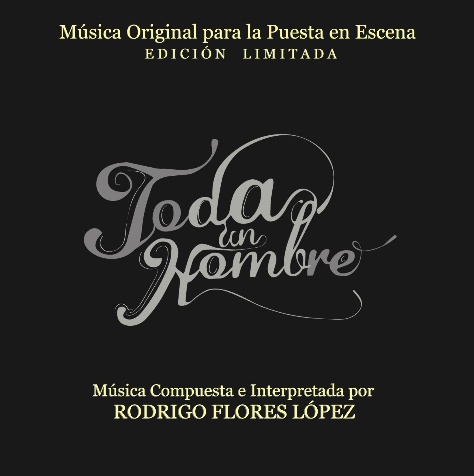 Toda Un Hombre  Original Score (Limited Edition)