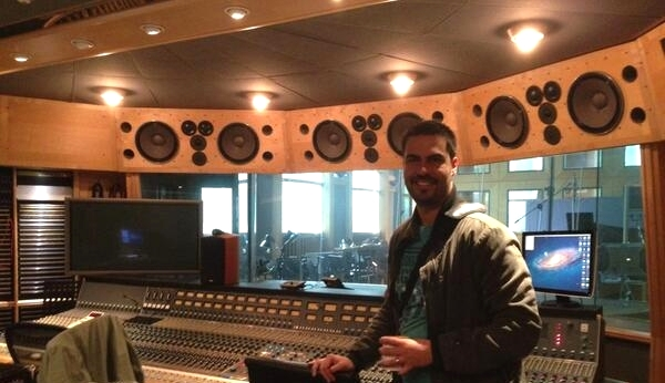 Mixing Session at AIR Studios (London, UK 2013)