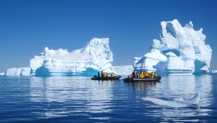 Photo by Lisa Mclean via Quark Expeditions