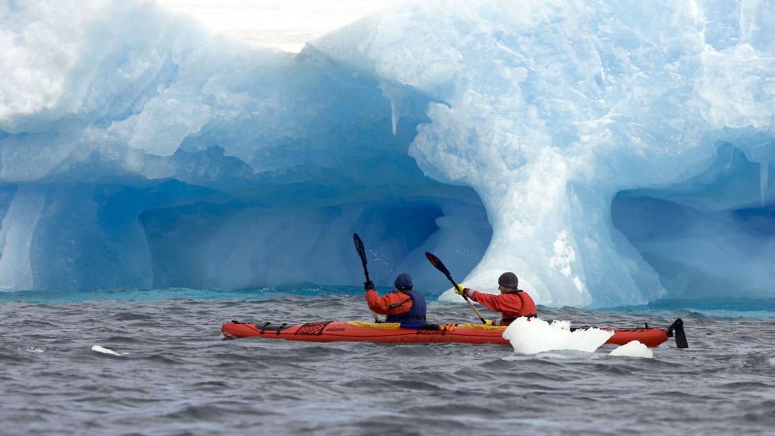 Photo by a passenger via Quark Expedition