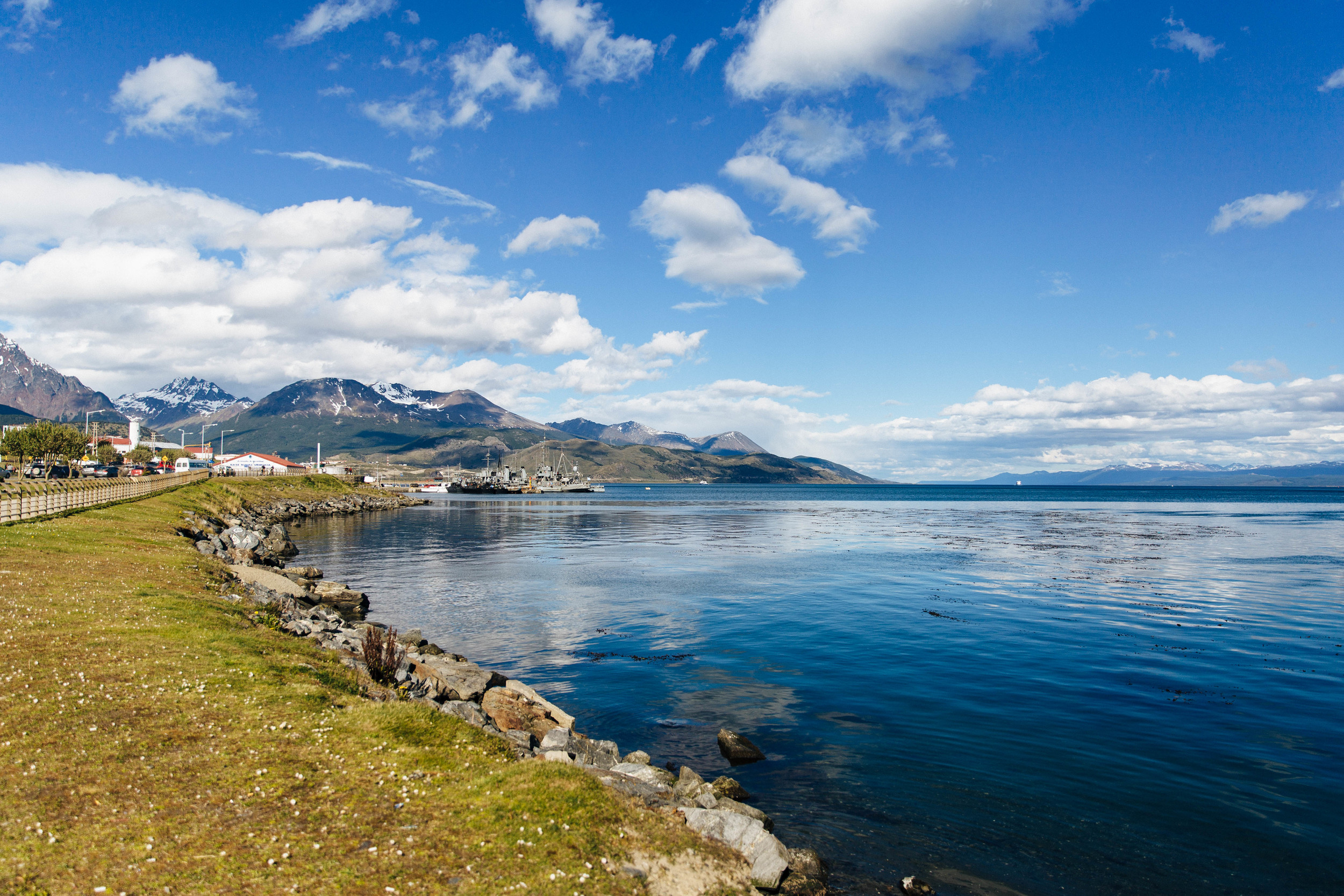 Ushuaia, the southern-most city in the world and port of call for Antarctica.