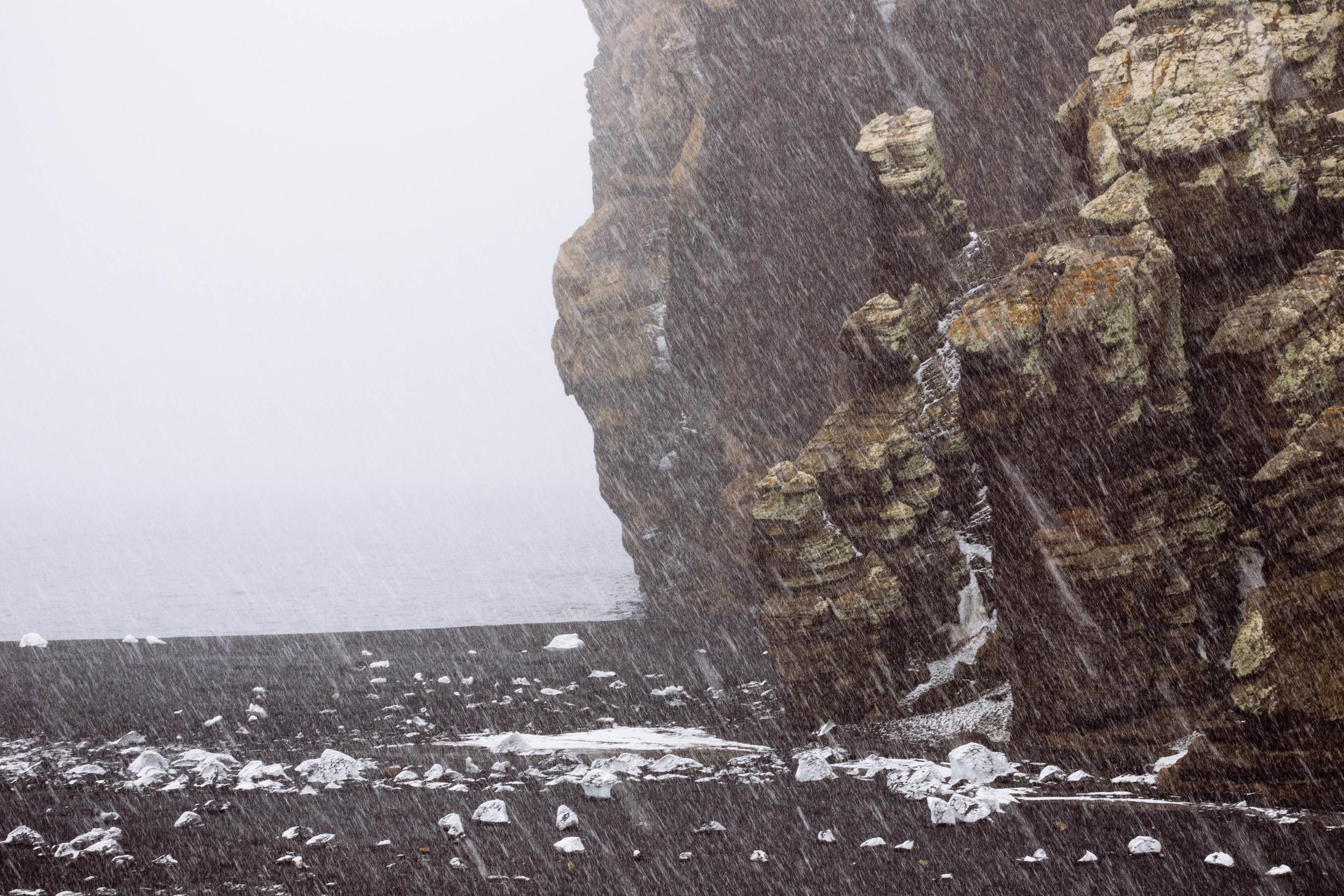 The rocky point atBailey Head felt like another planet.