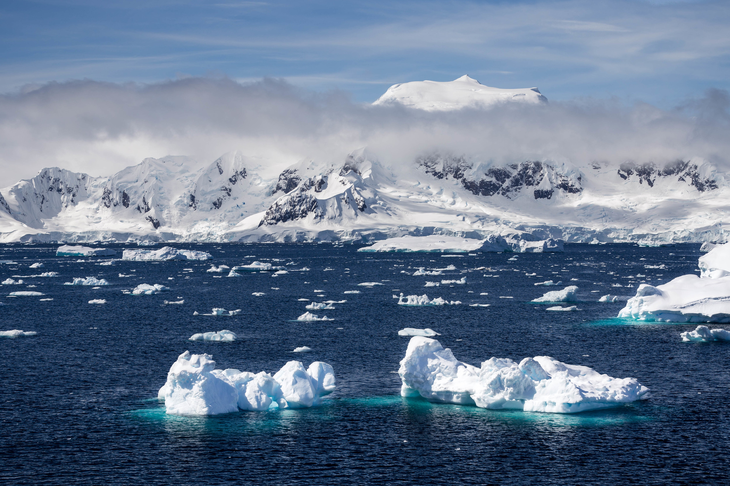 Approaching Charlotte Bay, Antarctica. The stuff of dreams.