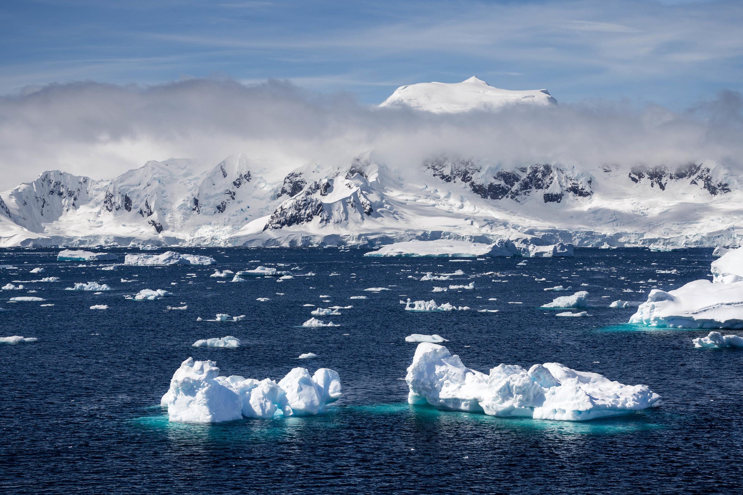 ApproachingCharlotte Bay, Antarctica. The stuff of dreams.