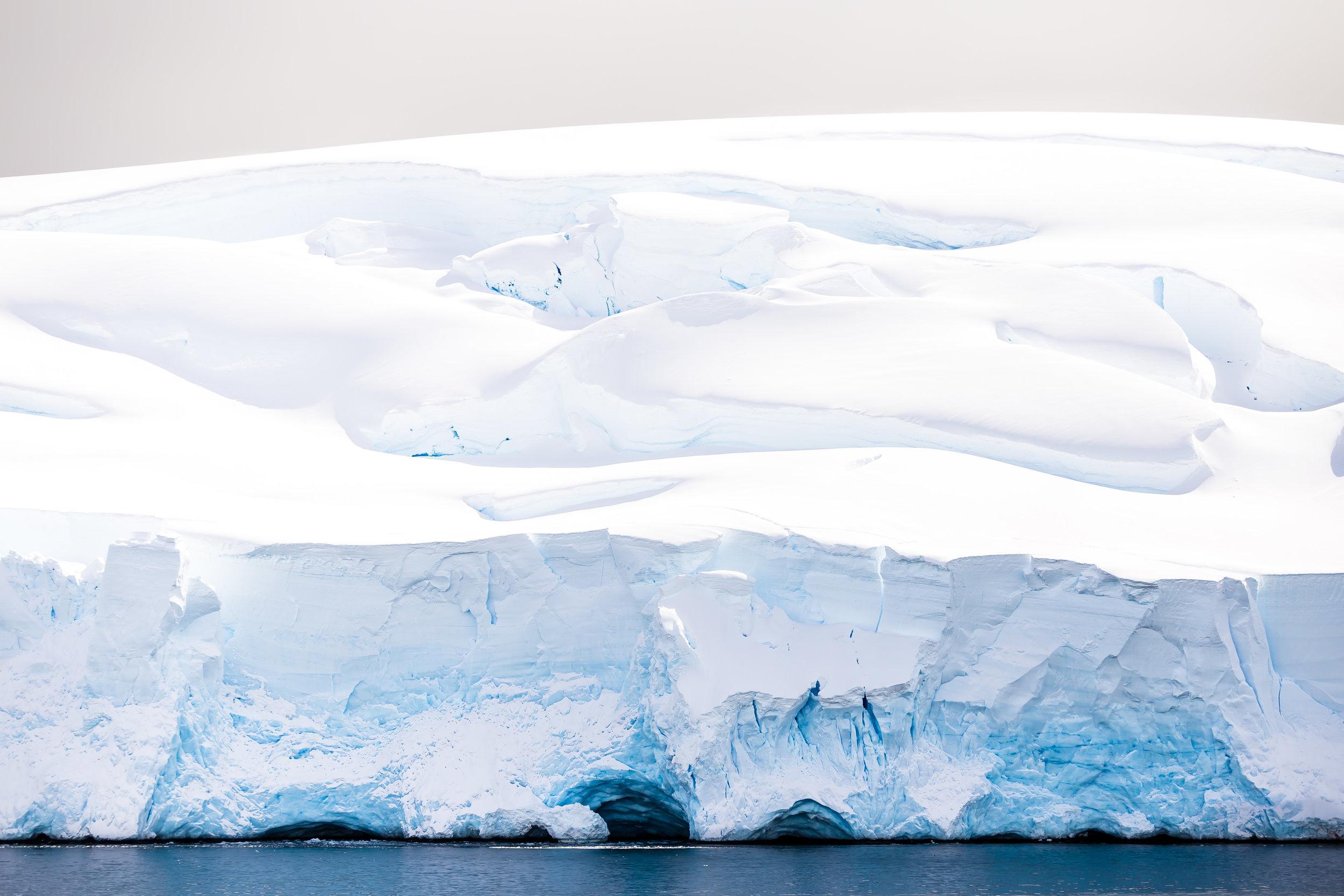 Frozen Silence Salvesen Cove, Antarctica