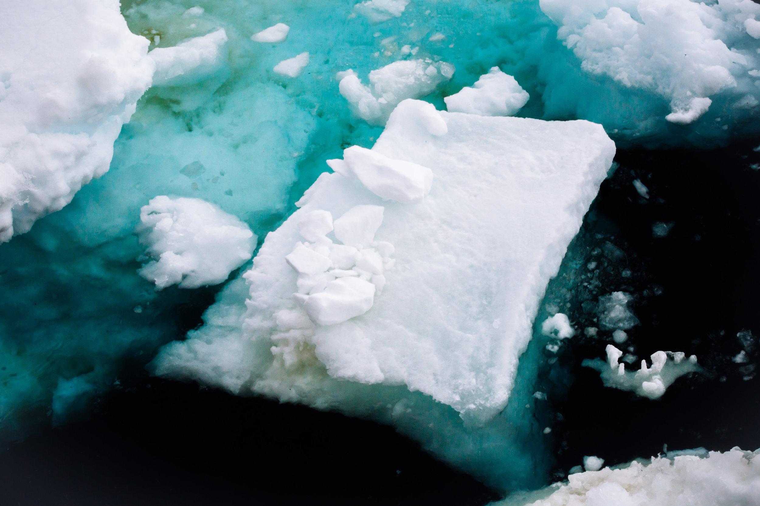 Ice Islands Antarctica