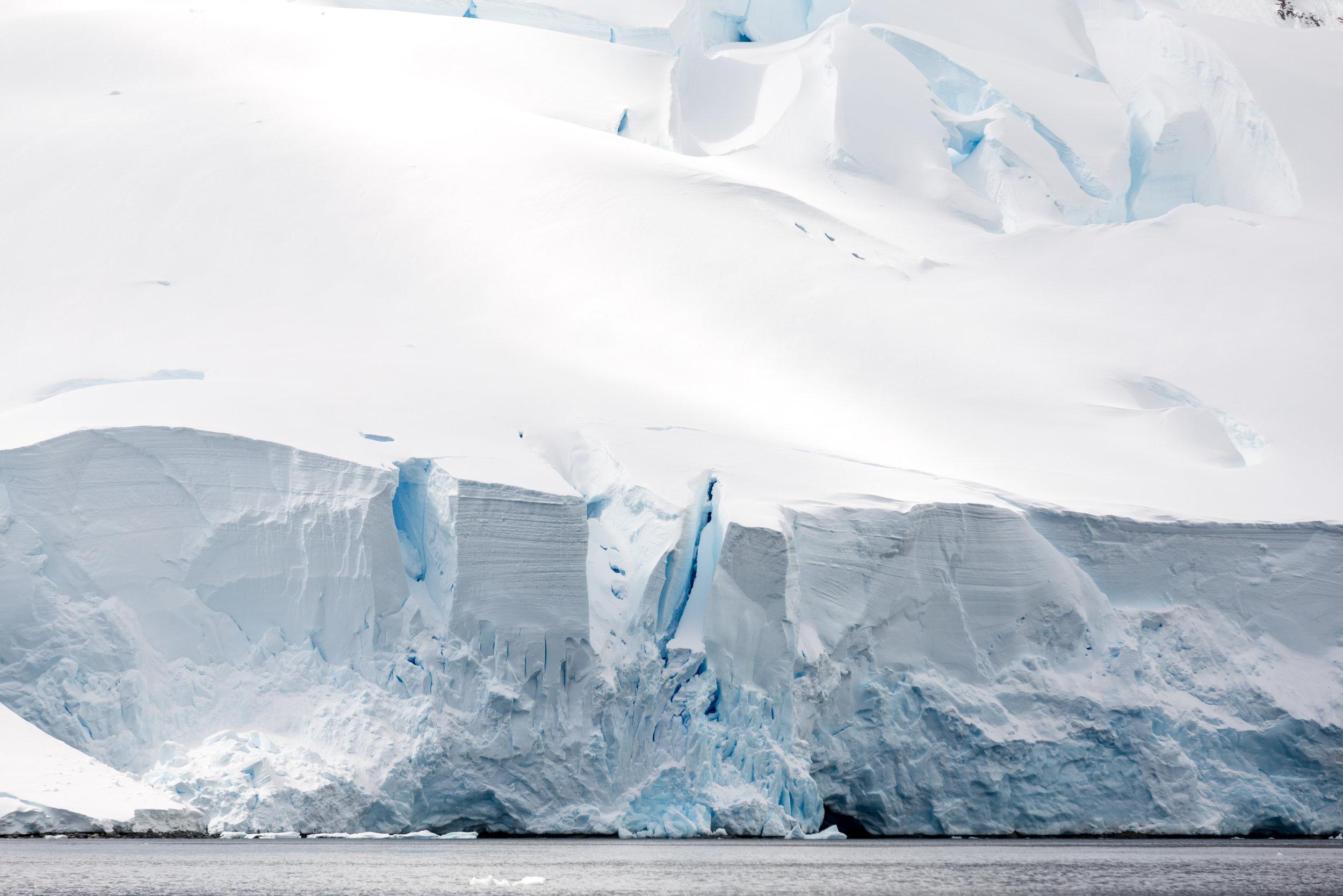 Glacier Tones Antarctica
