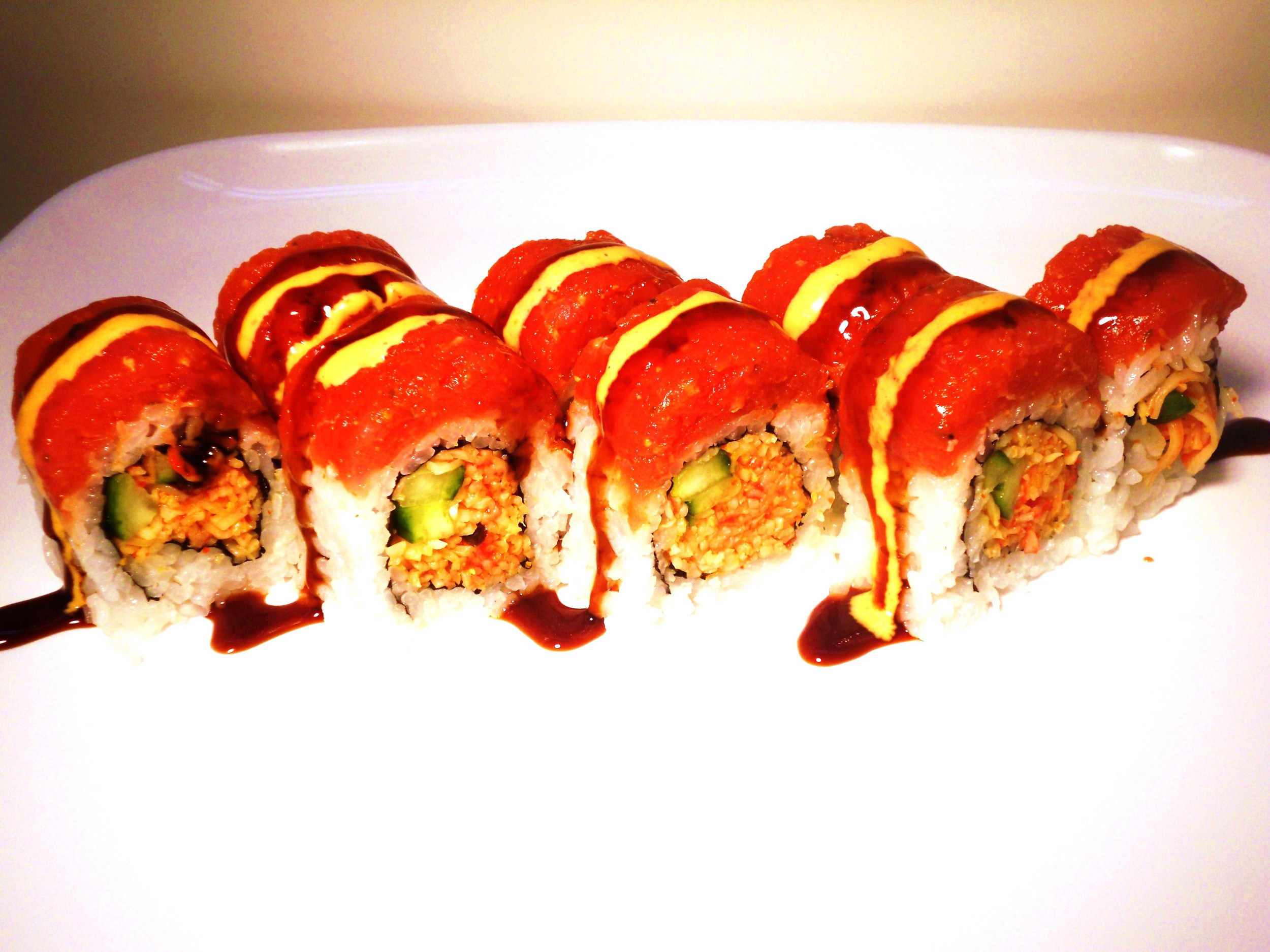 kani spicy tuna