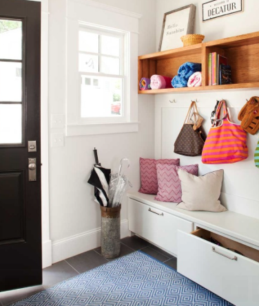 Mud room for back to school