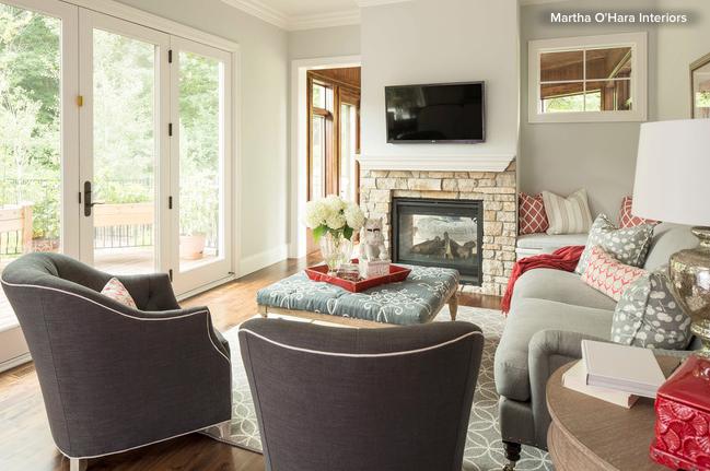 cozy bright living room