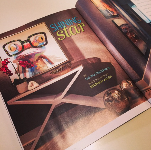 Shortly after that, we were featured again but this time in Interior Appeal with a 6 page spread!