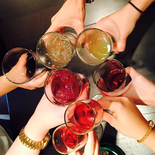 And finally, we said Cheers to 2014!     It's been a great year at Tina Marie Interior Design.  We're looking forward to an even better 2015, though!  Wishing you and yours a prosperous 2015, friends!  May you be richly blessed in the upcoming year!    --your friends at Tina Marie Interior Design