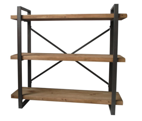 "$250 3 LEVEL SHELF  47""W X 14""D X 44""H"