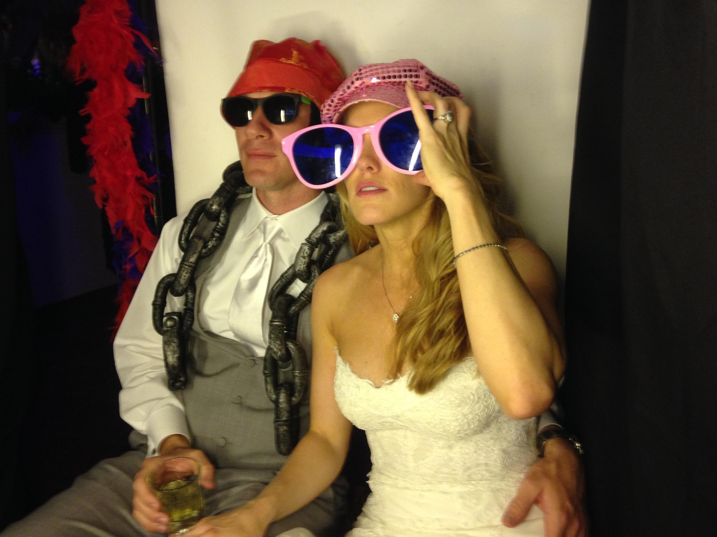 Santa Barbara Wedding DJs Action Photo Booth