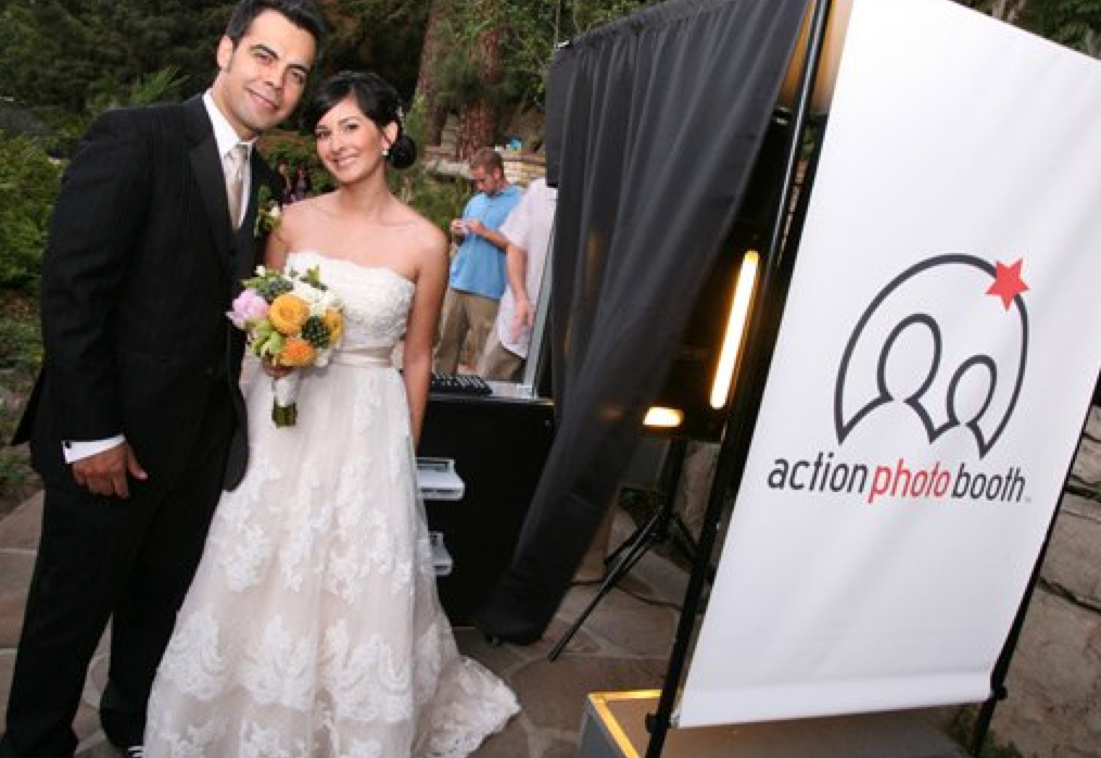 Santa Barbara Wedding DJs Action Photo Booth Rental