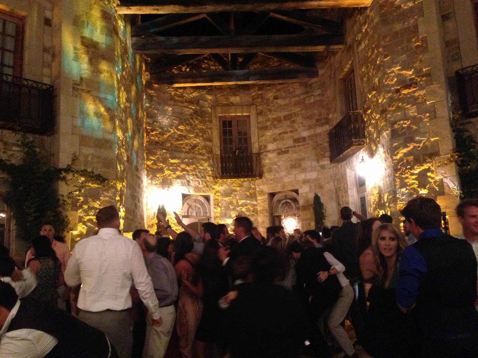 Santa Barbara Wedding DJs Event Lighting : Full lighting design house, uplighting, lighting design, professional lighting