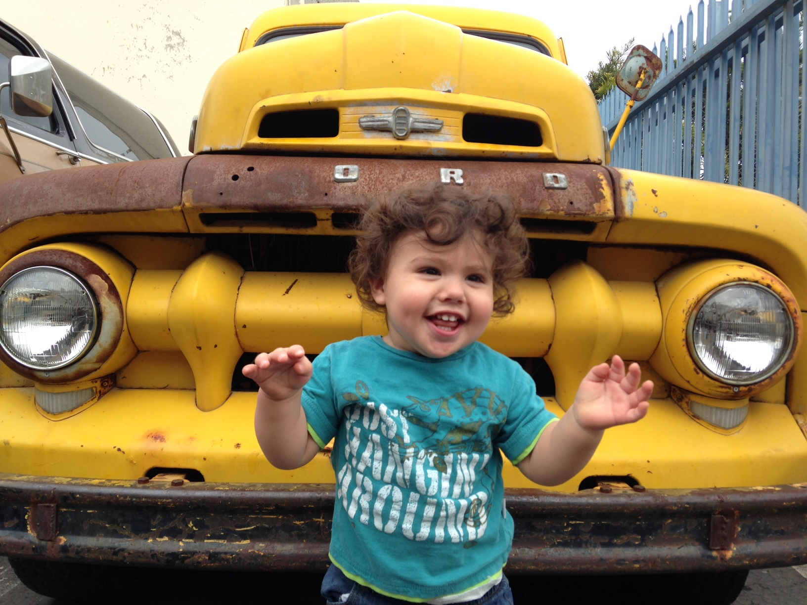 Santa Barbara Wedding DJs Vintage Truck