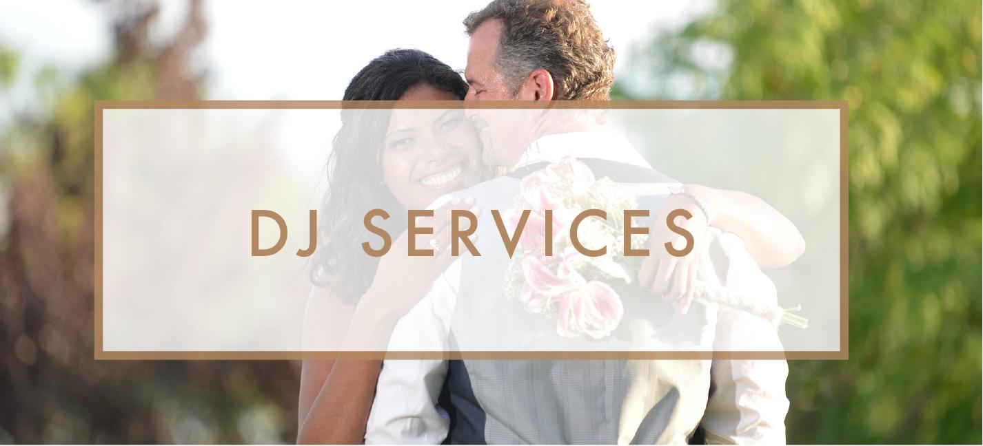 Santa Barbara Wedding DJs: DJ Services