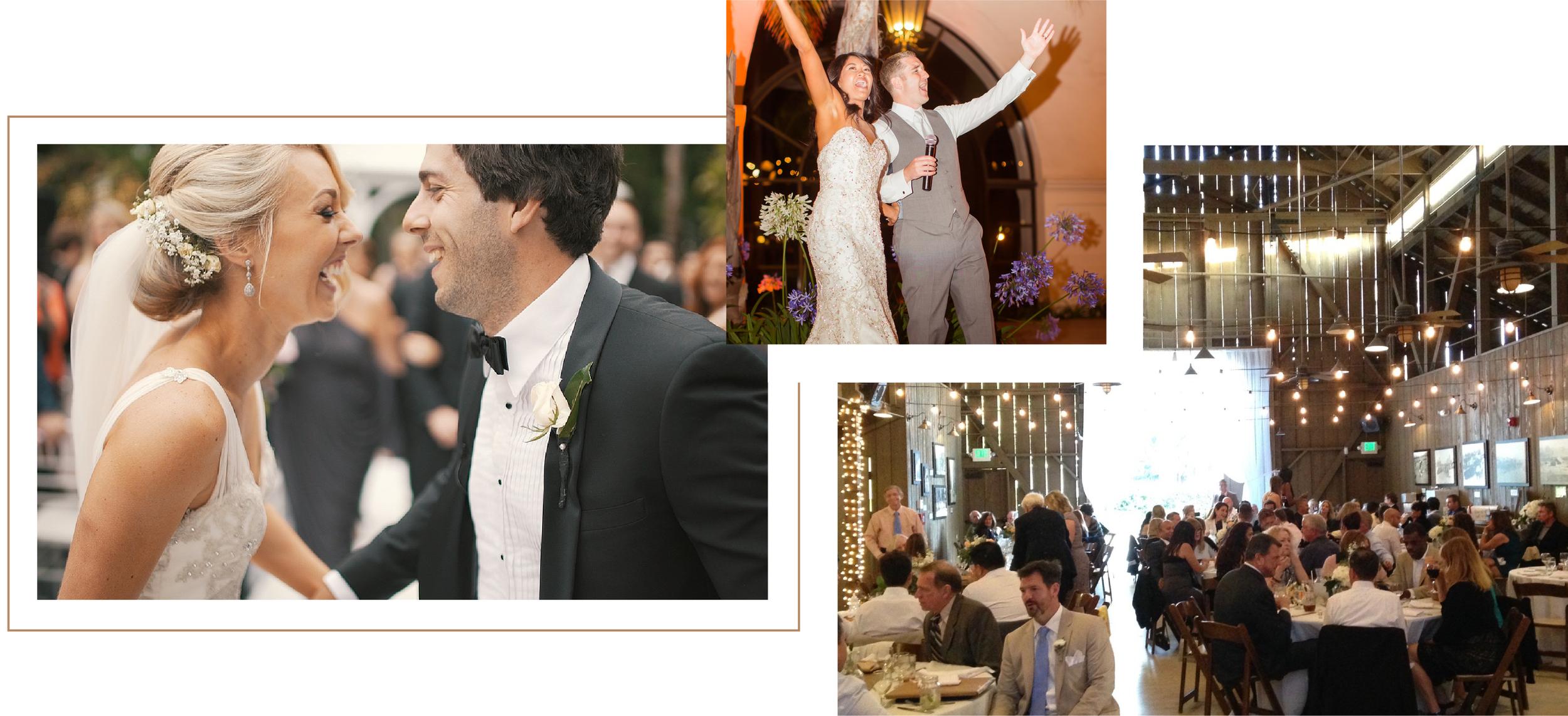 Santa Barbara Wedding DJs: DJ services and rentals