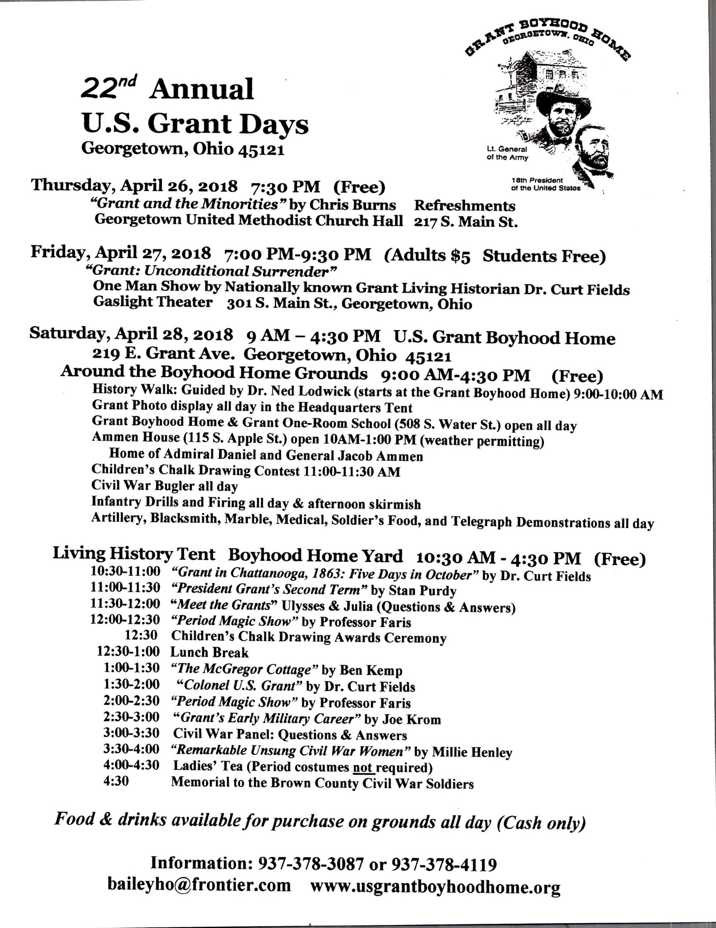 2018 Grant Day Schedule  wLogo.jpg