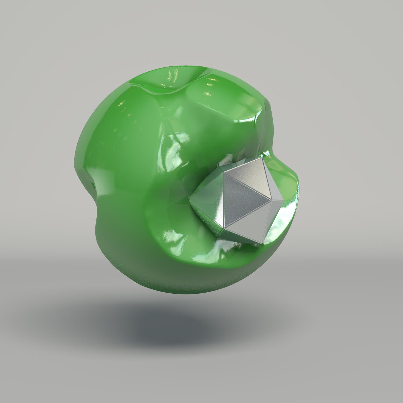 GreenBlobSilverPlatonic_Render.jpg