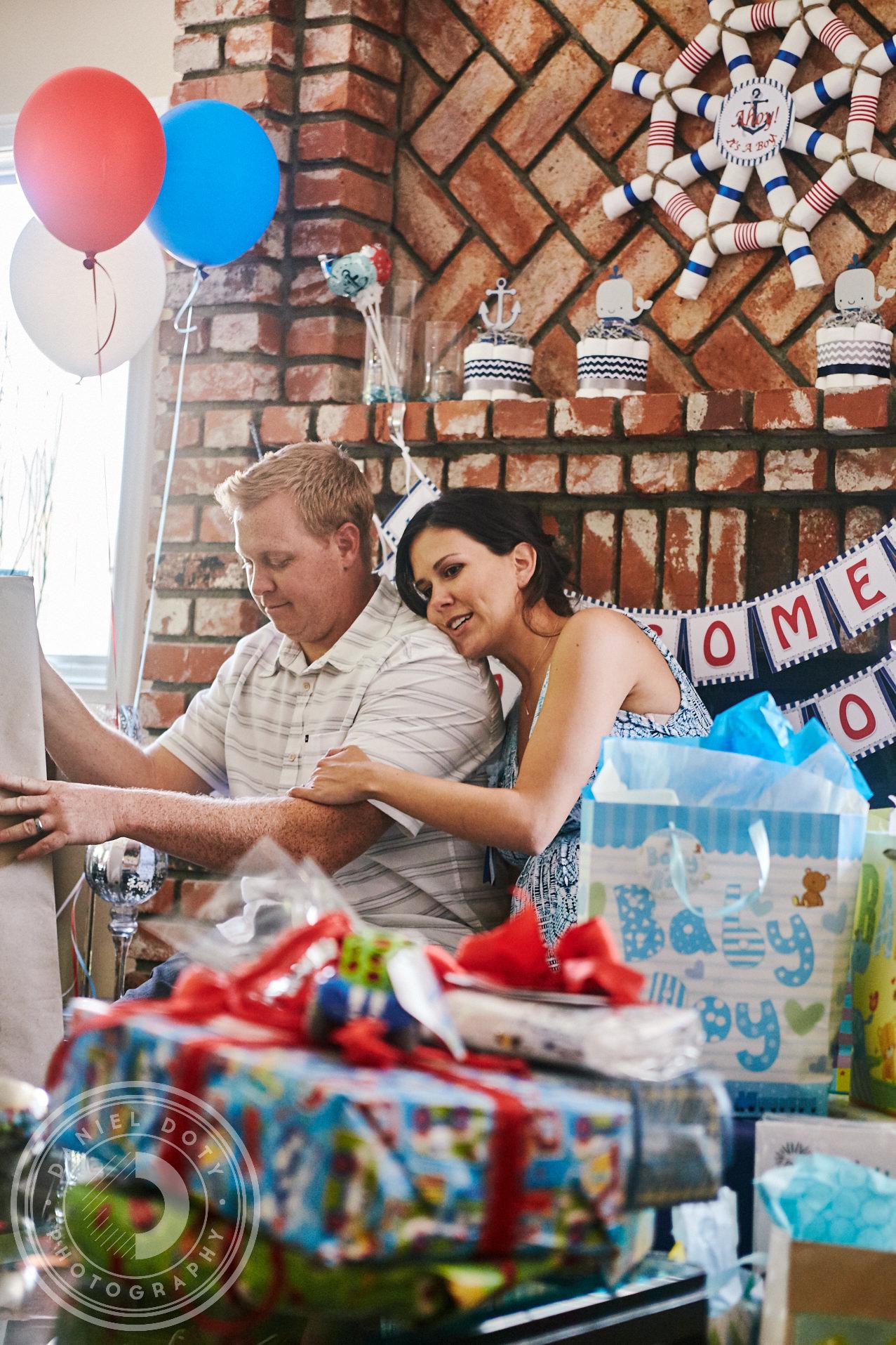Sondra and Scott Baby Shower