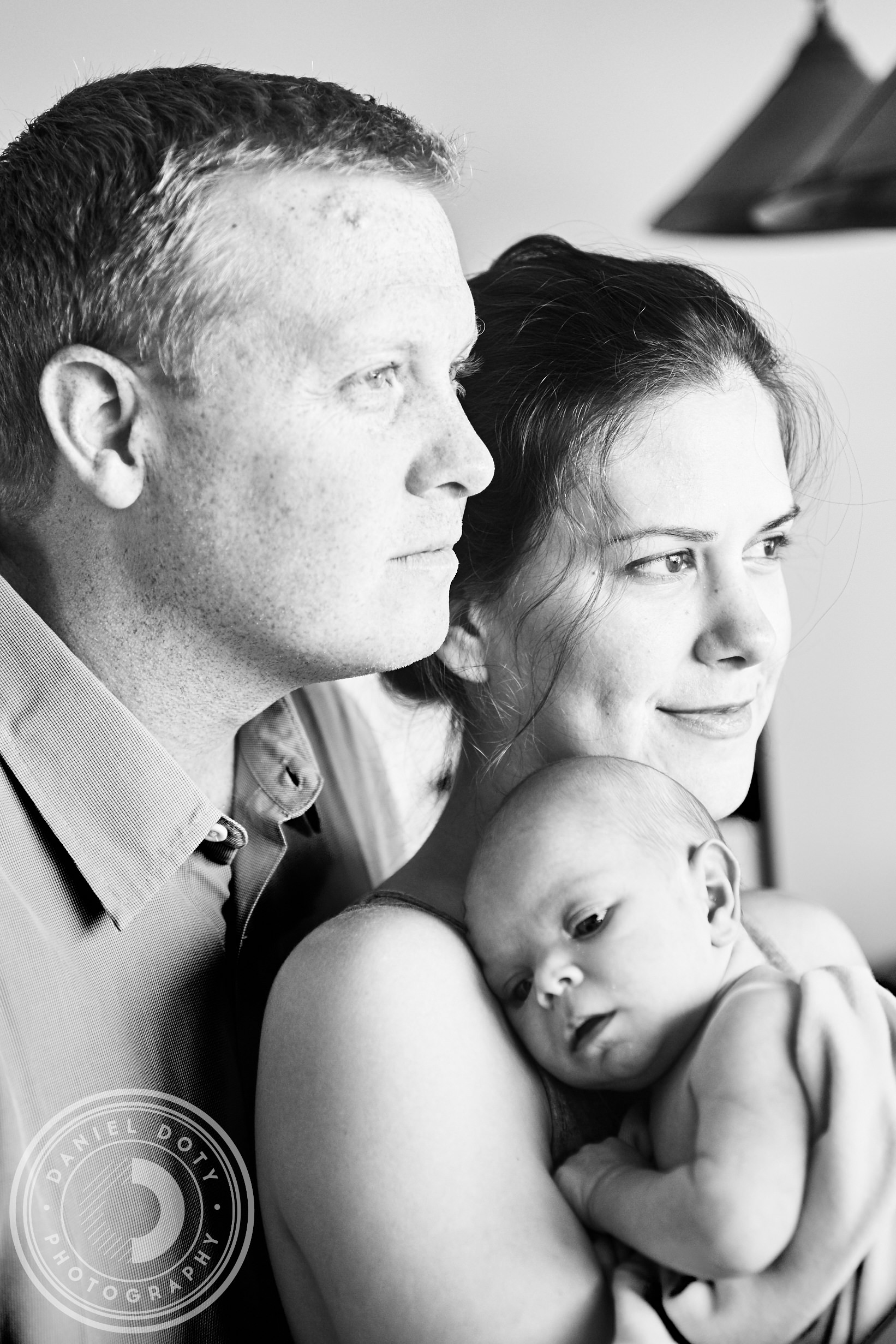 Newborn photography images from El Segundo CA Boutique wedding and portrait photography business Daniel Doty Photography.