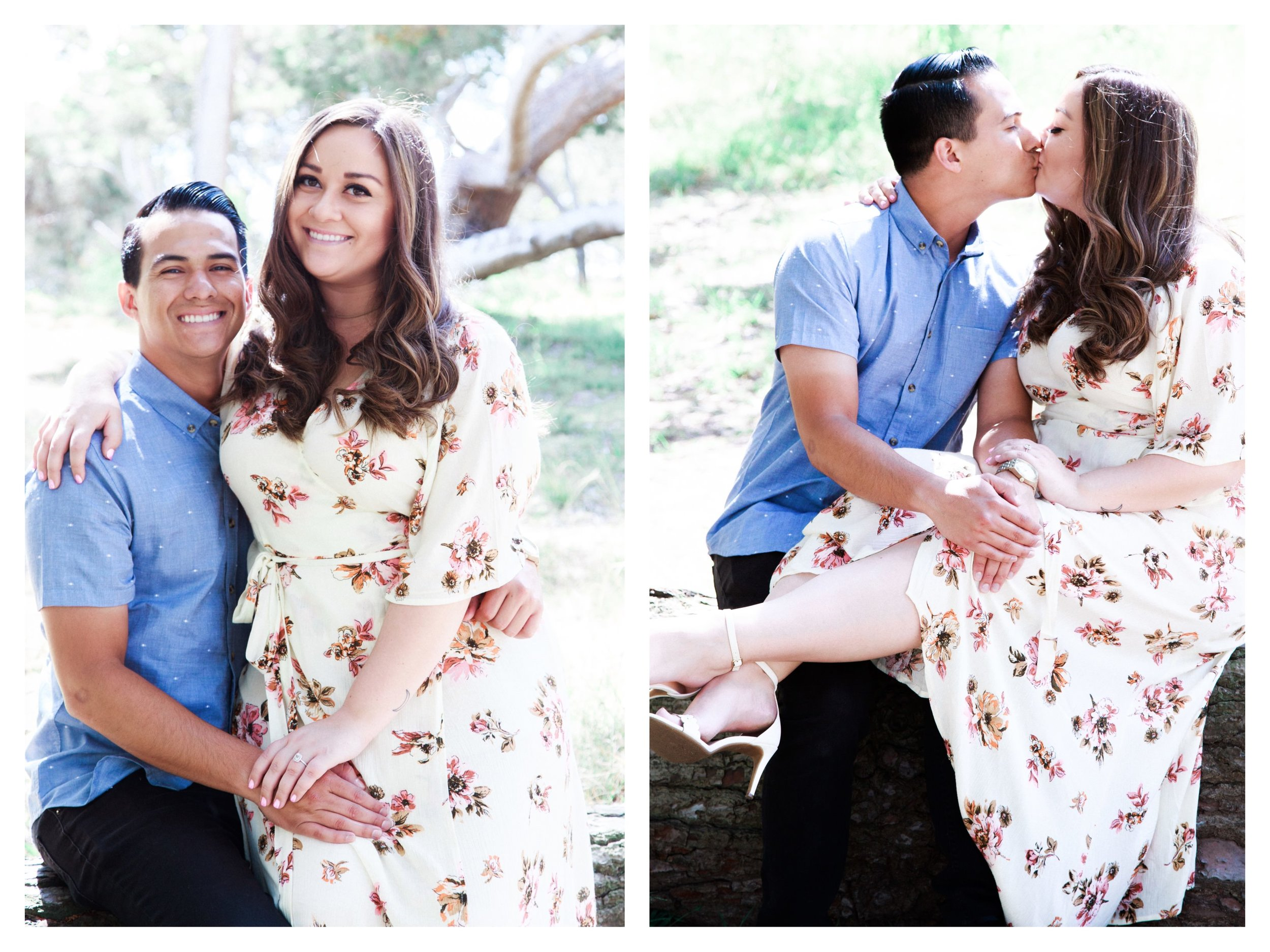 Wilderness Park Engagement Photography images from South Bay Boutique wedding and portrait photography business Daniel Doty Photography.