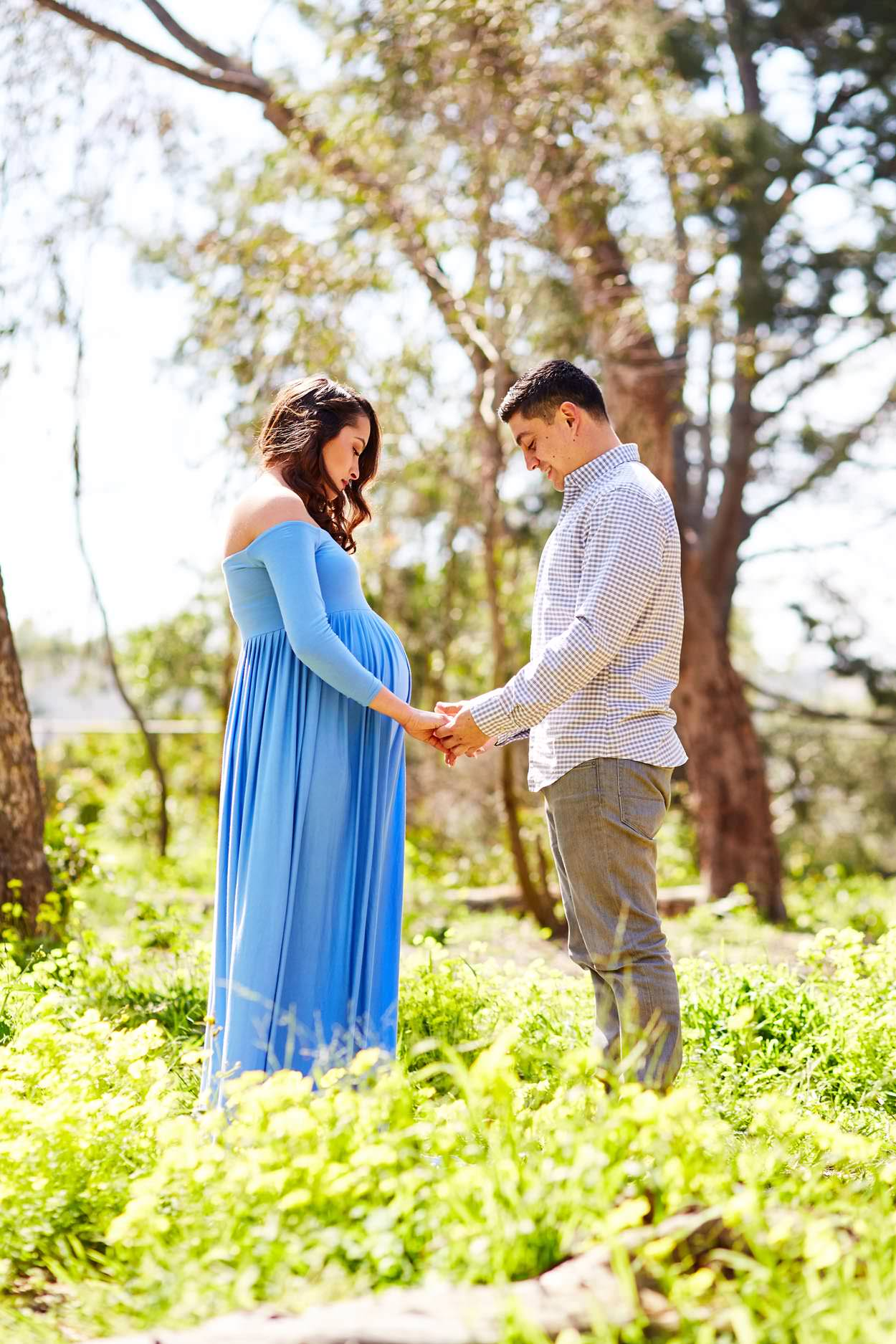 Wilderness Park Maternity Photography images from South Bay family and wedding portrait photography business Daniel Doty Photography.