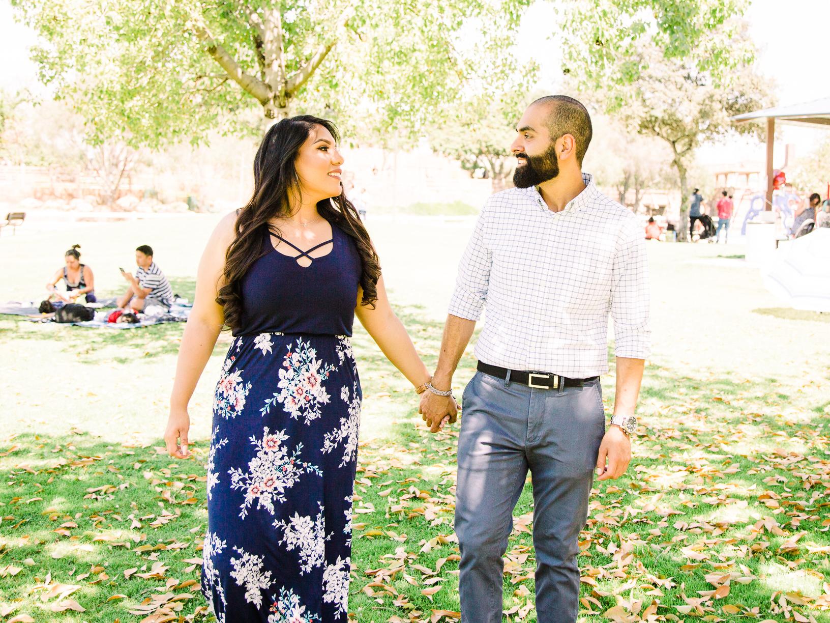 Gabriela & Eric Engagment Photoshoot - Heritage Park, Cerritos,