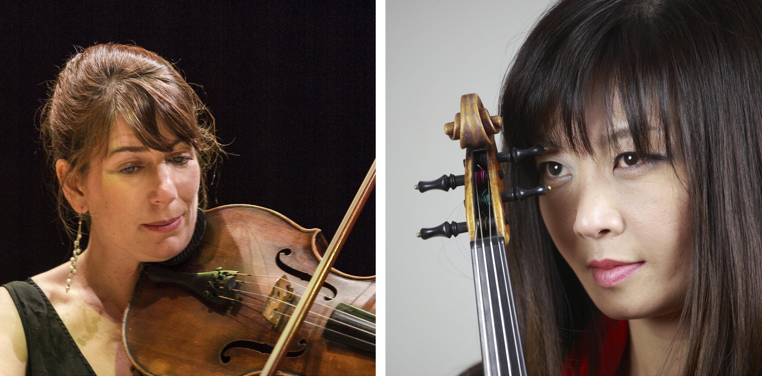 Helen Ireland, viola & Miki Tsunoda, violin