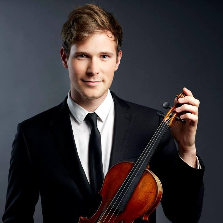 Thibaud Pavlovic-Hobba, guest violinist