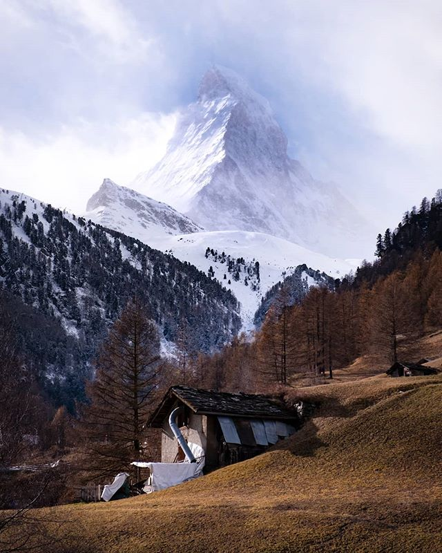 Oooo la la! I have and will always love a good mountain. #Switzerland #matterhorn #mountains