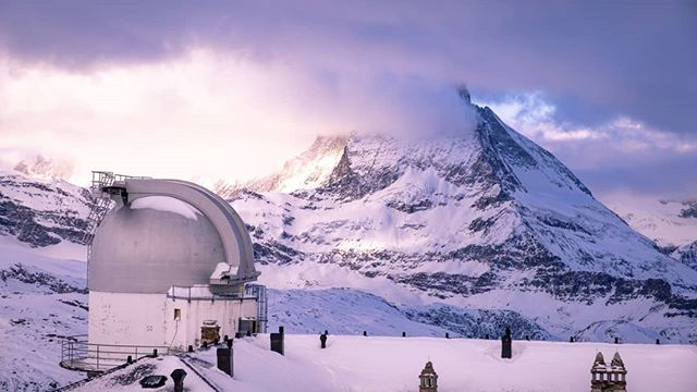 #Switzerland #matterhorn #mountains #observatory