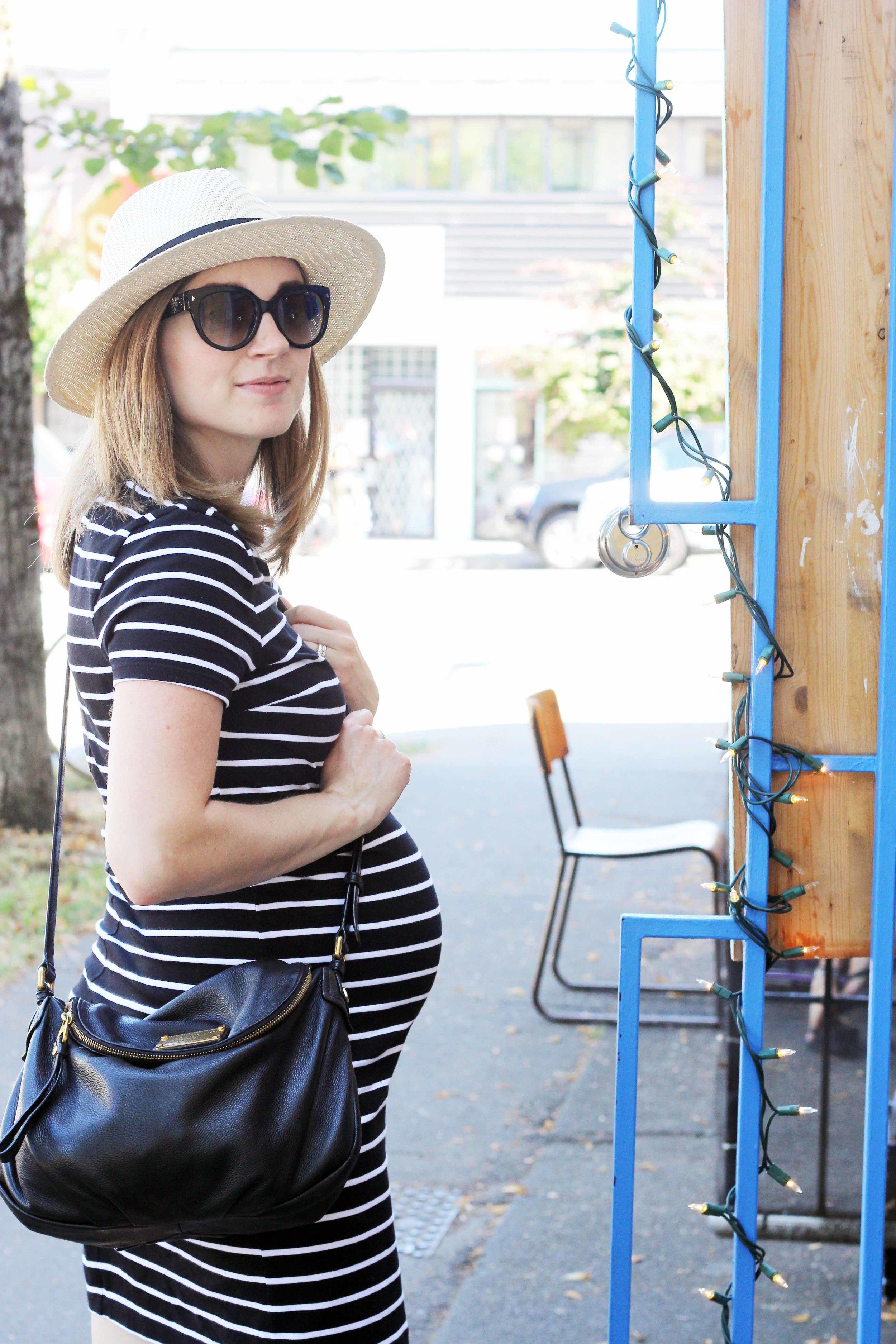 pregnancy shopping brunch