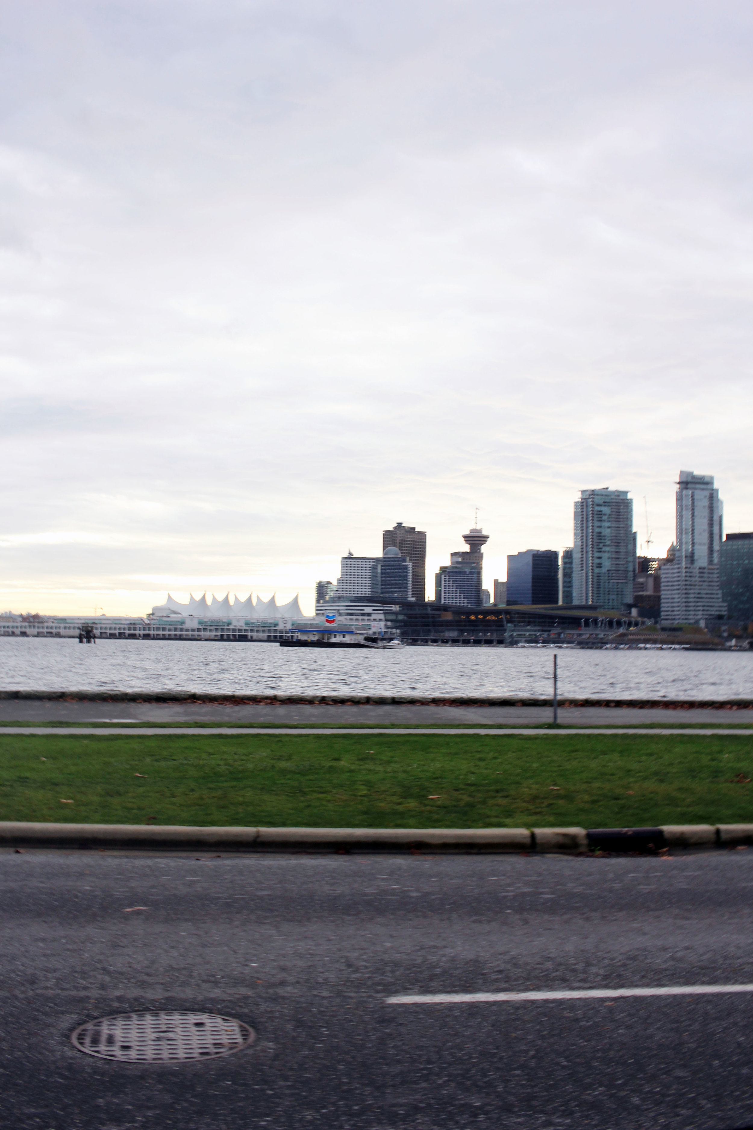 Vancouver downtown view