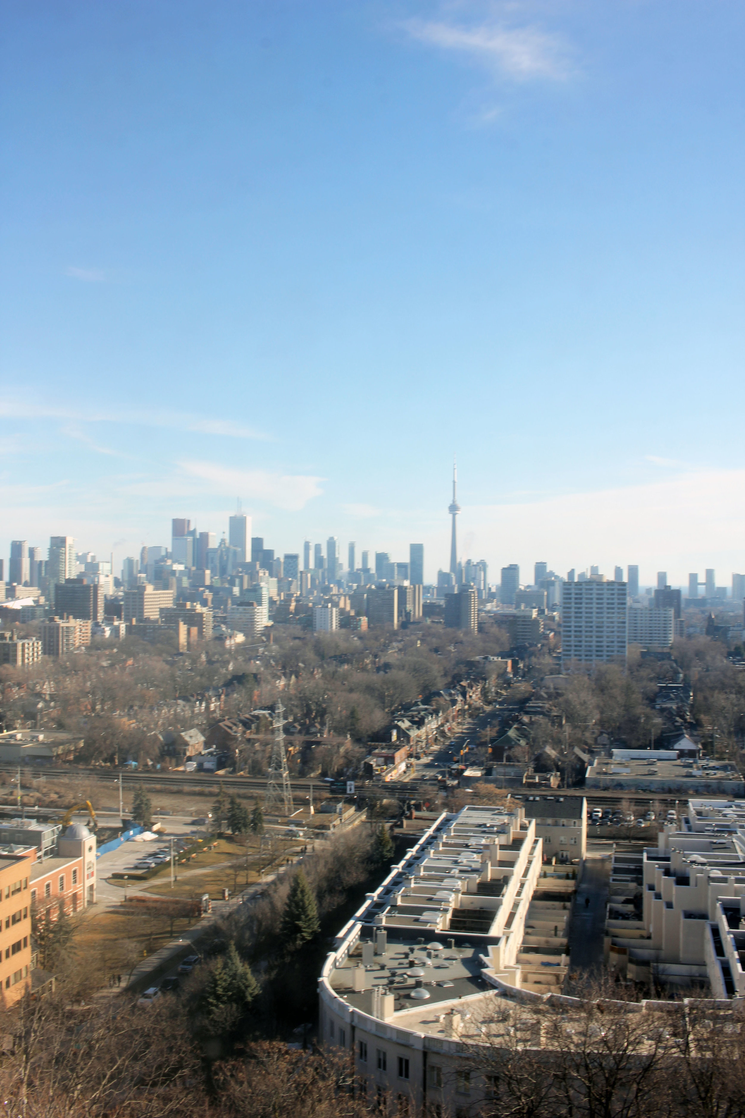 Views of the 6 from the tallest tower.