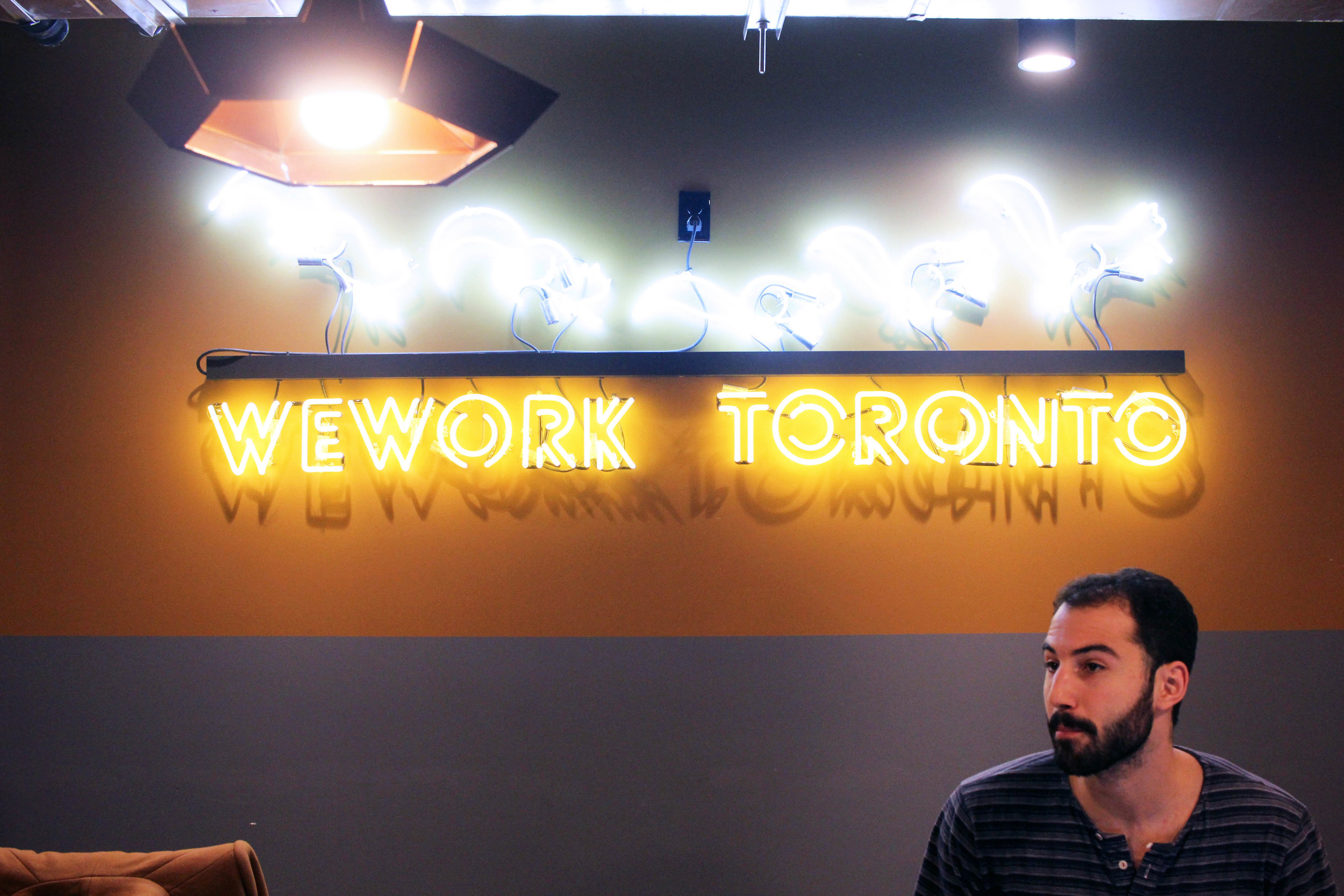 WeWork coworking in Toronto