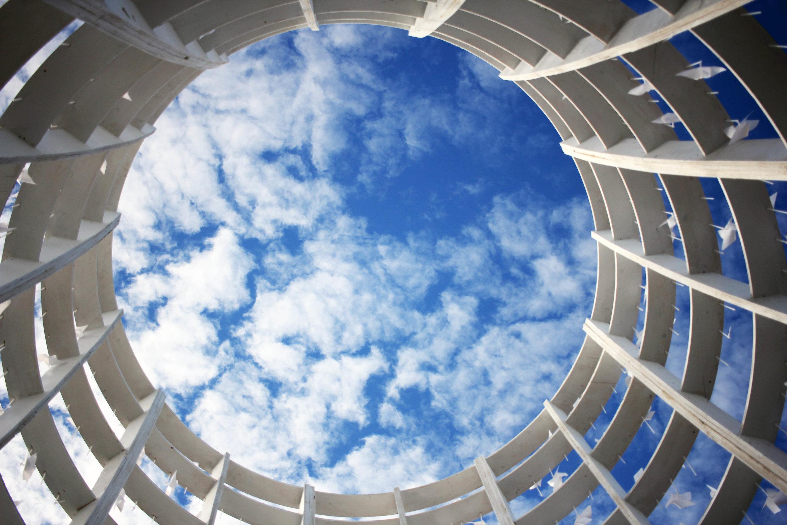 Power to the Wind Station Toronto Sky