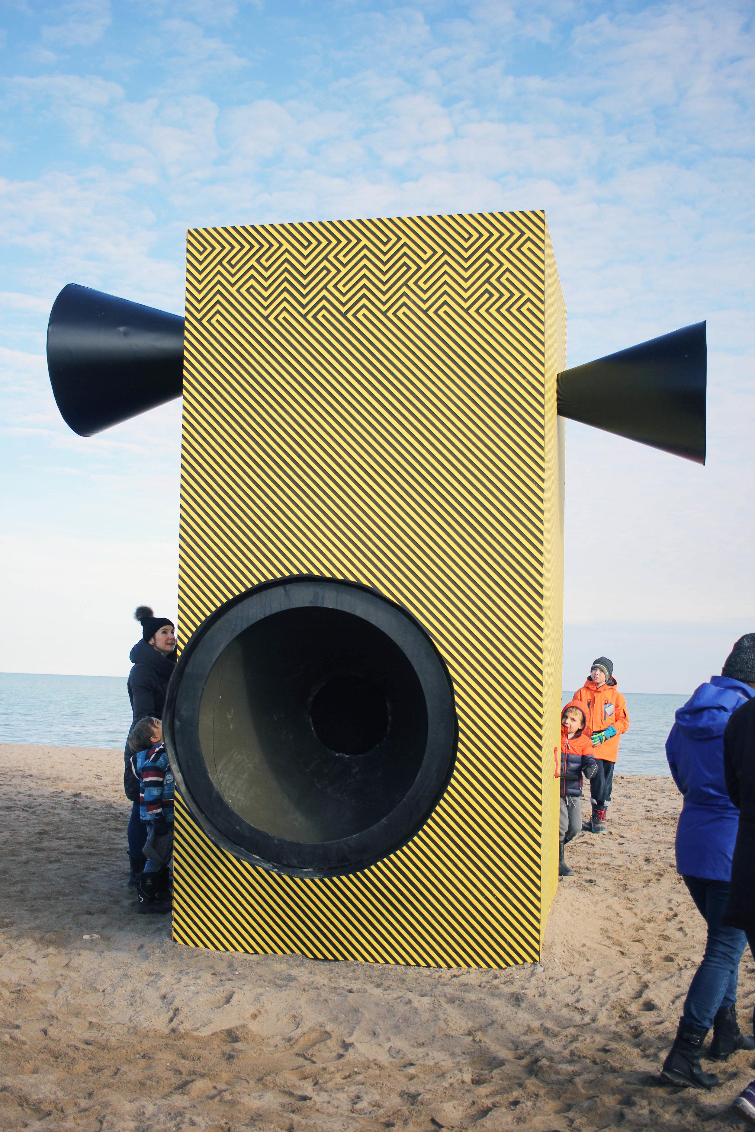 Make Some Noise WinterStations Toronto