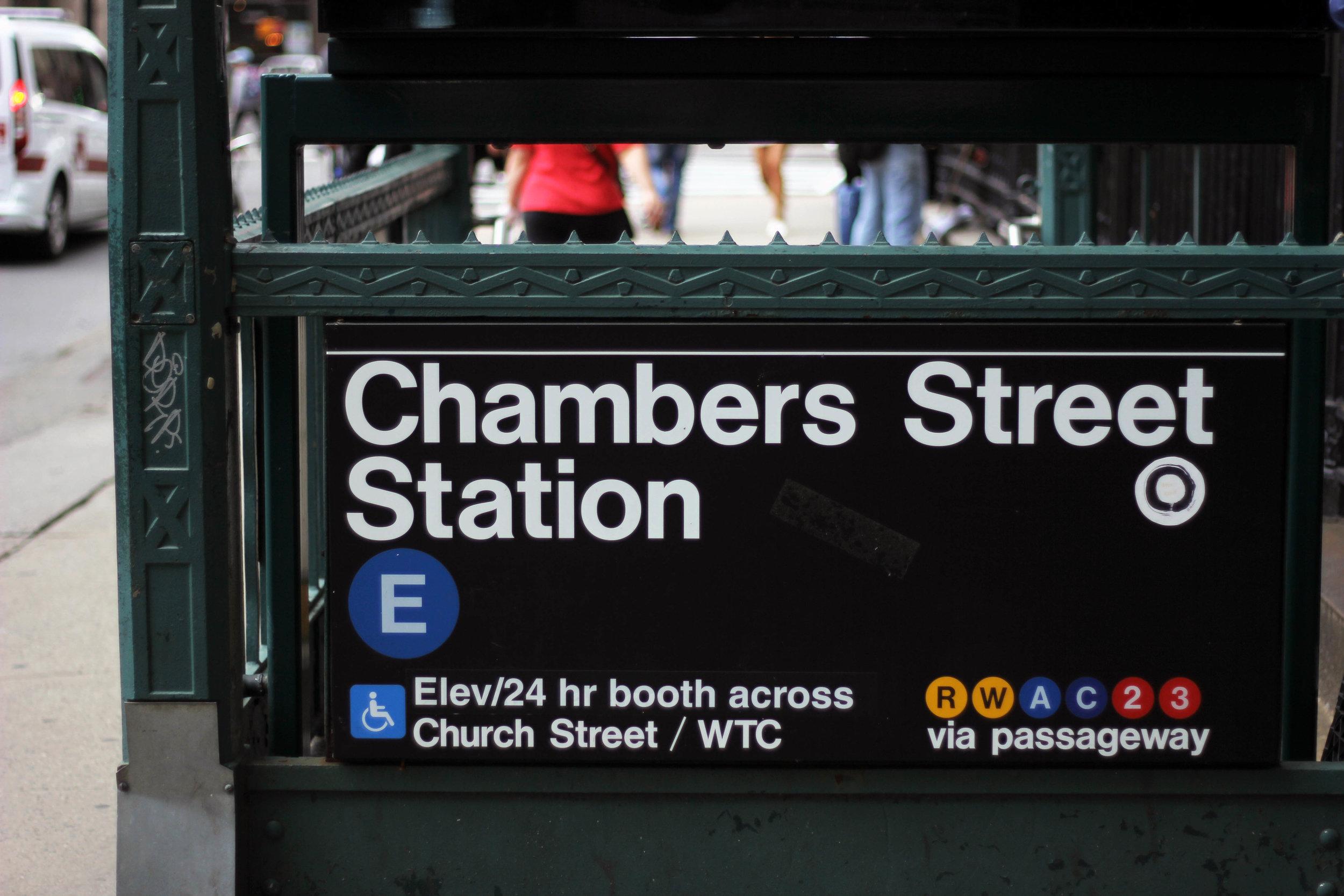 Subway station, New York