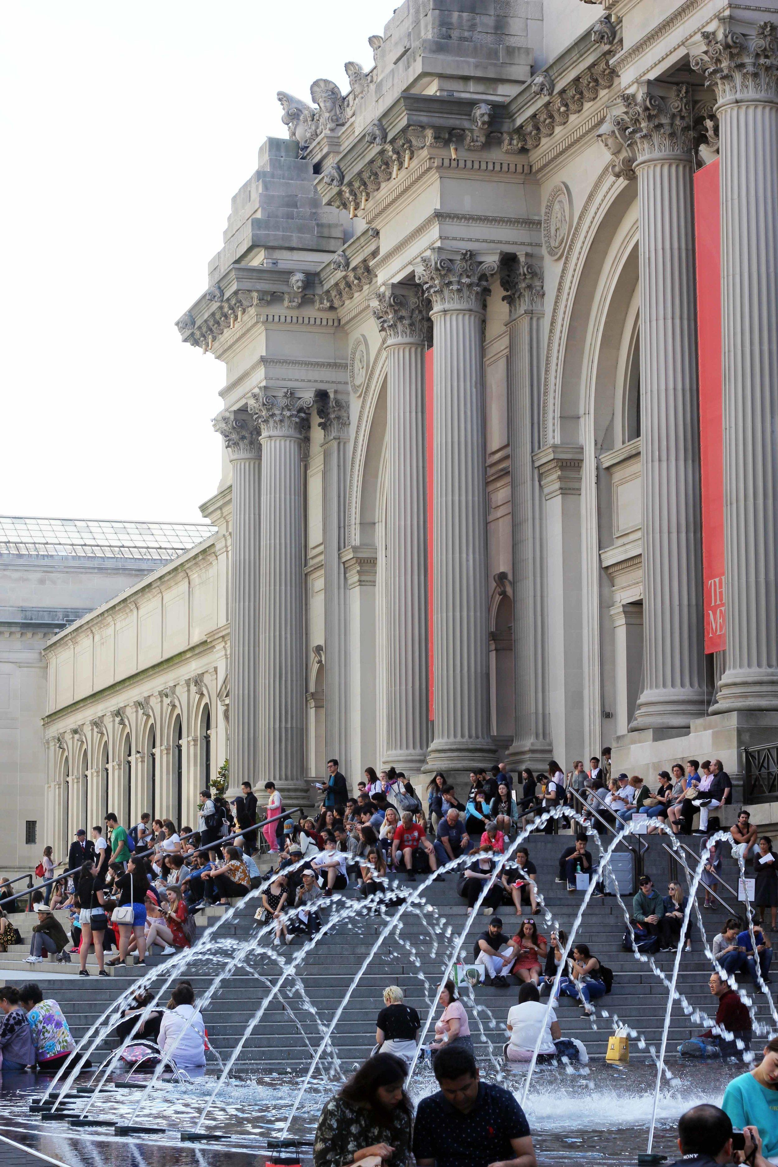 Stairs of The Met