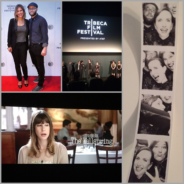 """- """"That's what you do in a photo booth?"""" -""""That's four versions of what *they* did in a photo booth."""" @SlowLearnersMov #TribecaFilmFestival #MusicByTheWellspring"""