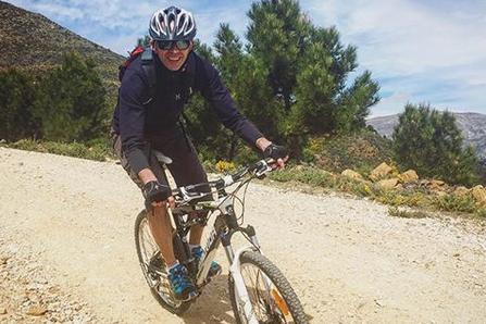 Mountain biking at Juice Hideaway