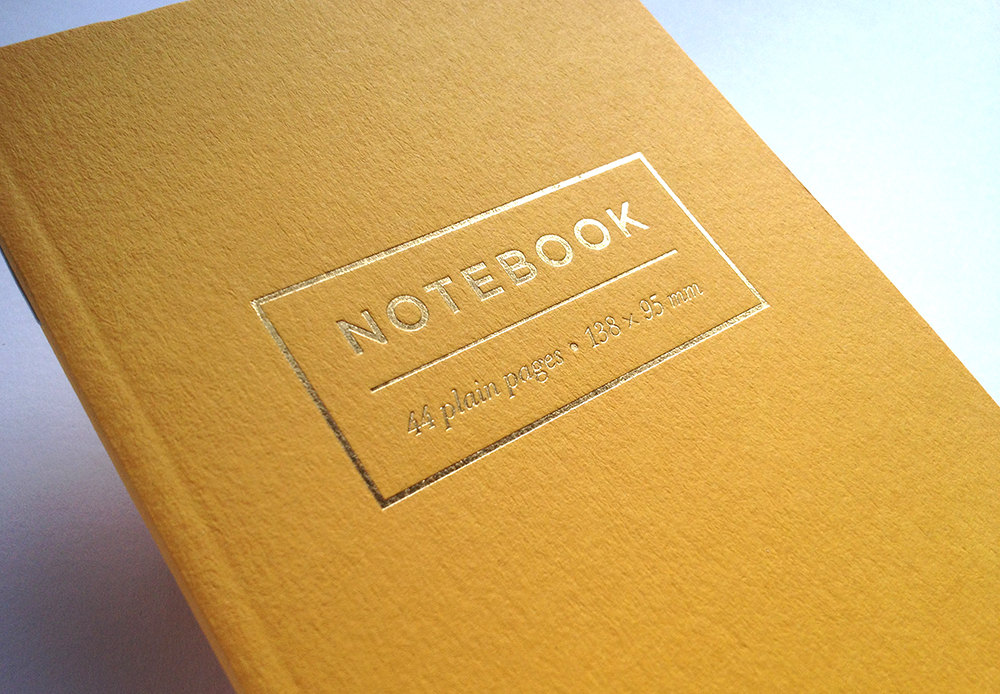 Meticulous Ink Gold Foil notebook