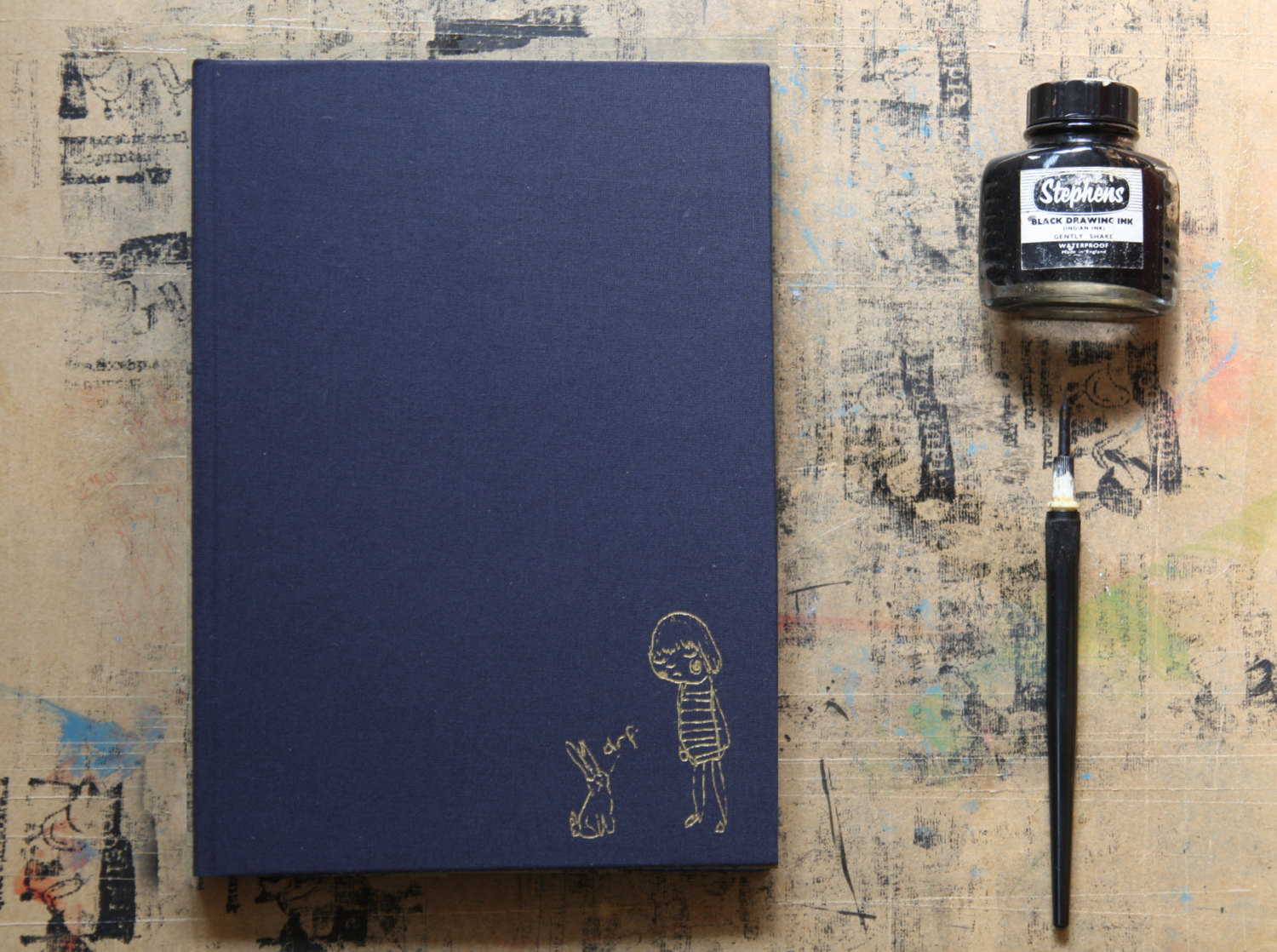 mooshpie gold foil notebook