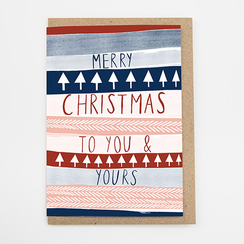 Alison Hardcastle - You & Yours Christmas Card