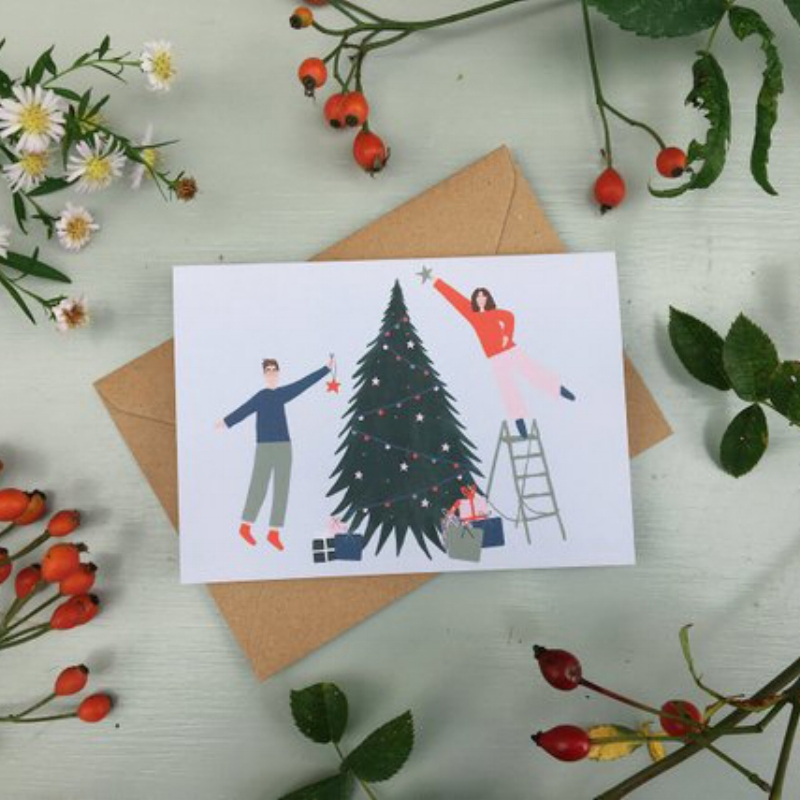 Becky Knott Design - Rocking around the christmas tree